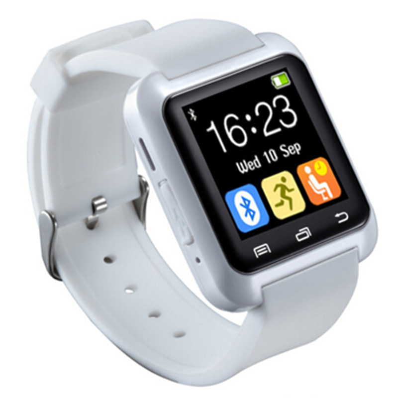 5x High Quality Bluetooth 4.0 Smartwatch Pedometer Healthy Smart Watch U80 For iPhone LG Samsung Phone PK U8 GT08 DZ09
