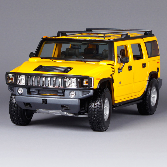 Maisto 1 18 Hummer H2 Suv Car Cast Model Toy New In Box Free