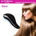 Fashion hair comb brush black comb hair detangling hair brush tangle Shower Styling Makeup Tool