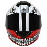 New Flip Up Motor Helmet TORC T271 Full Face Motorcycle Helmet Inner Visor Double Shield Helmet