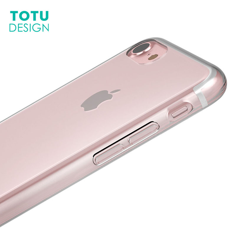 TOTU Clear Case For iPhone 7 7 Plus Coque Transparent Case Luxury Soft TPU Cover Capinha Ultra Thin Shell for iPhone 7plus