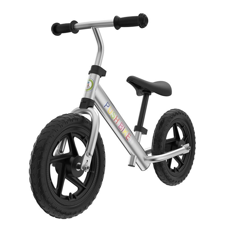 child balance bike ski aluminum alloy Sense car two portable slide car multifunction racing walk baby ski scooter 12 inches