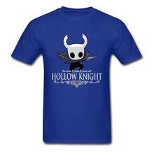 Hollow Knight T-shirt Funky Adult T Shirt 2019 Men Blue Tshirt Undertale Gamer Tops Oversized Mens Tees Cartoon Clothes Fitness