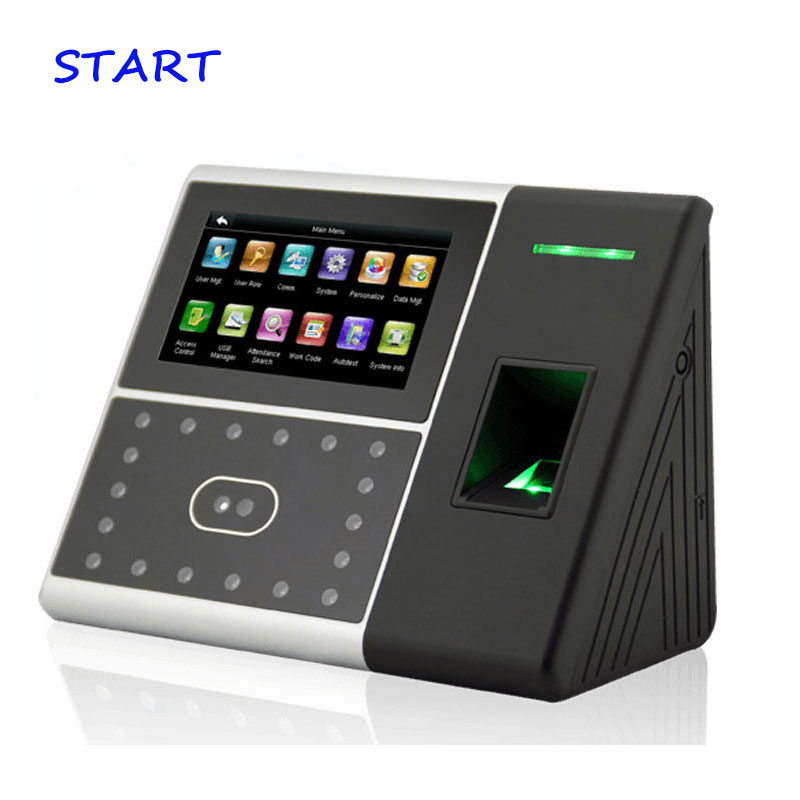 ZK Iface302 TCP/IP Biometric Face & Fingerprint Time Attendance Time Clock Face Attendance System Face Time Recording Iface 302