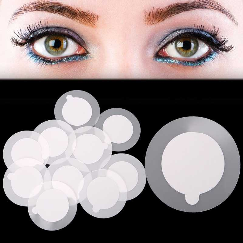 10x Protective Glue Cover Stickers For Jade Crystal Stone Eyelash Extension Tool