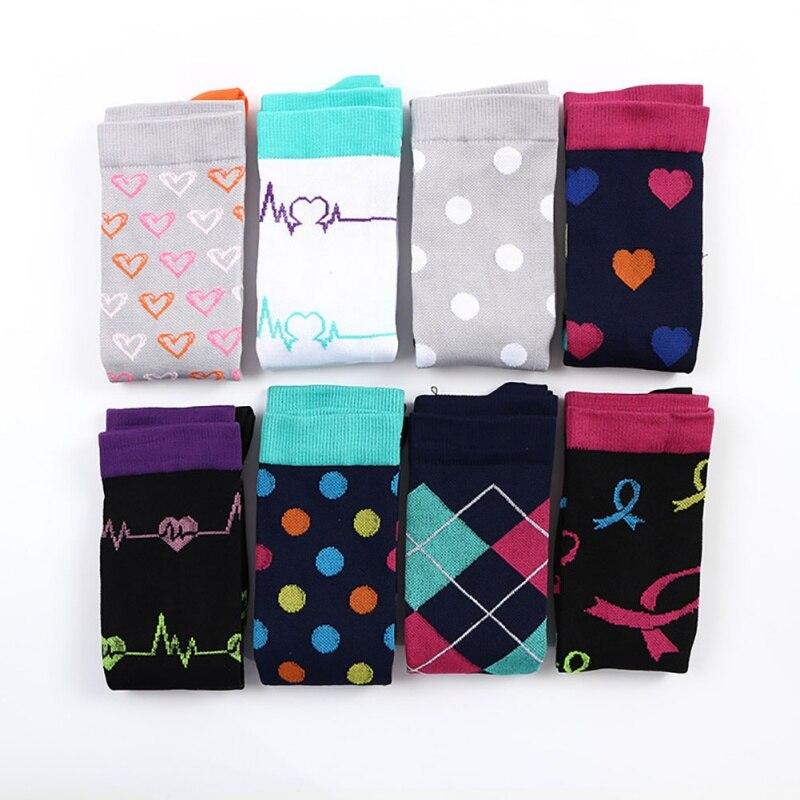 Мужские и женские Компрессионные носки высокие дышащие футбольные носки для спорта на открытом воздухе