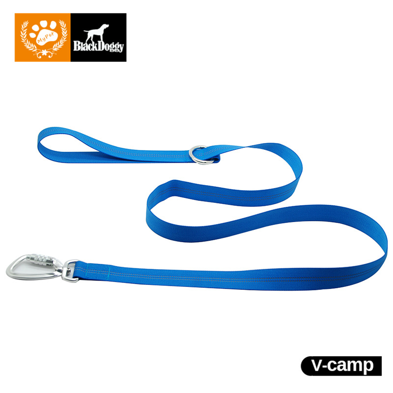 4 Colors Nylon Leash For Dog Collar Fluorescence Outdoor Safe Dogs Climb Run Training Leashes Leader Rope Sturdy VC15-LH005