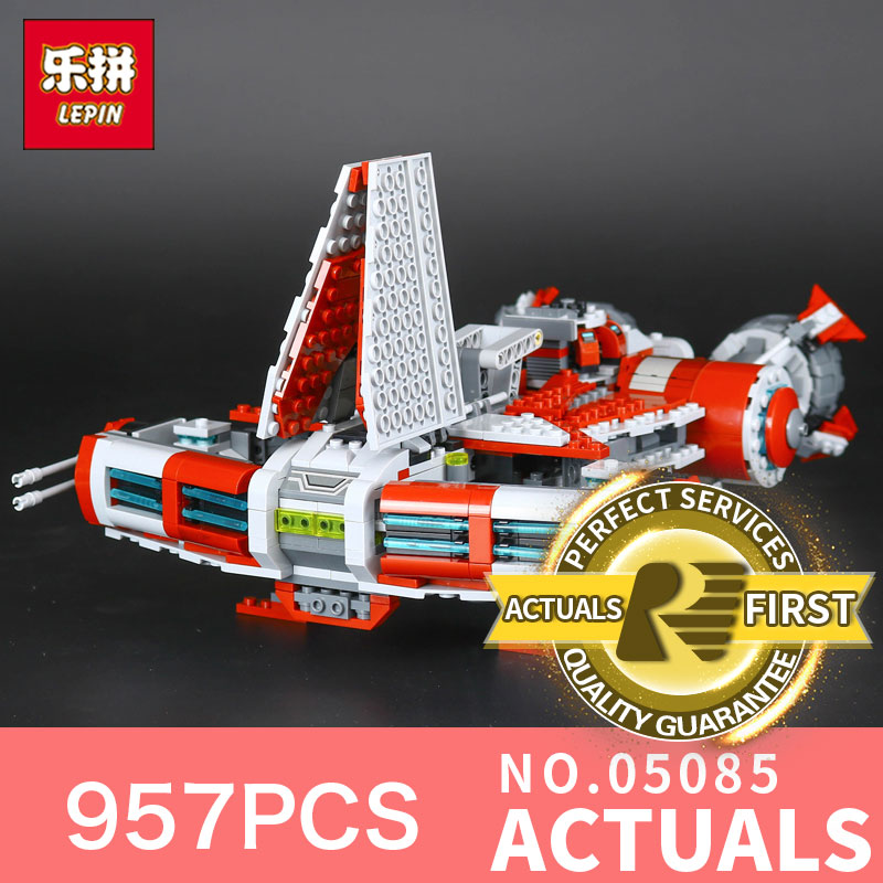 Lepin 05085 Star Classic toy Wars 957Pcs Stunning children Educational Toys Building Blocks Bricks DIY Model Gift 75025 led прожектор эра ip65 30w 230v желтый свет