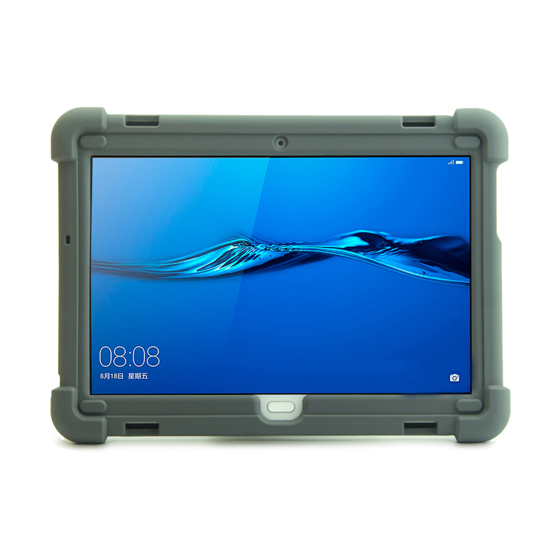 For Huawei MediaPad M3 Lite 10.0 M3 10.1 BAH-W09 BAH-AL00 Kids-Friendly Silicone Rugged Tablet Case image