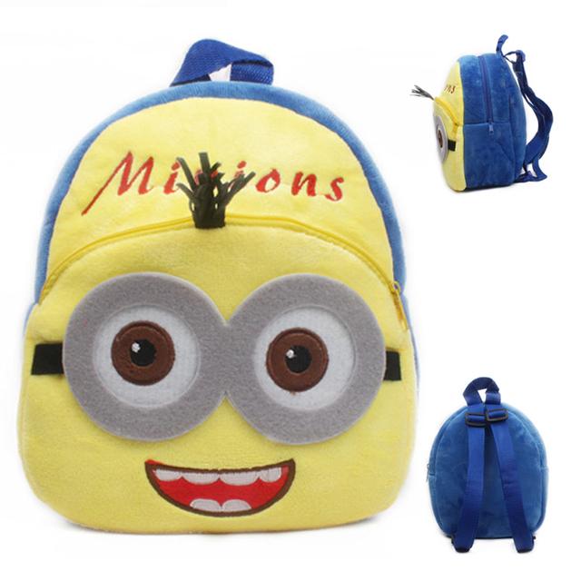 New cute cartoon kids plush backpack toys mini schoolbag Children's gifts kindergarten boy girl baby student bags lovely Mochila