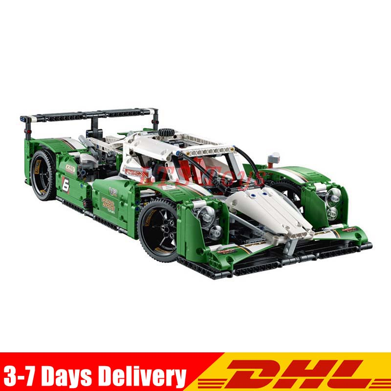 Pre-sale DHL Compatible 42039 Lepin Technic Series 20003 740pcs 24 hours Race Car Building Blocks Bricks Model Toys china brand 3364 educational toys for children diy building blocks 42039 technic 24 hours race car compatible with lego