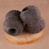 Wholesale 250g Lot Worsted Merino Wool Knitting Yarn Laine A Tricoter Breien Luxury Shiny Soft Hand