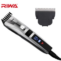 Professional Hair Clippers Men Rechargeable Electric Hair Trimmer Corded/Cordless Hair Cutting Grooming Kit Sideburns Shaver 45