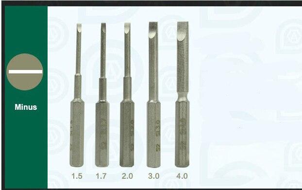 Revolver Tournevis MAGAZINE bits de Précision Réparation Outil à main
