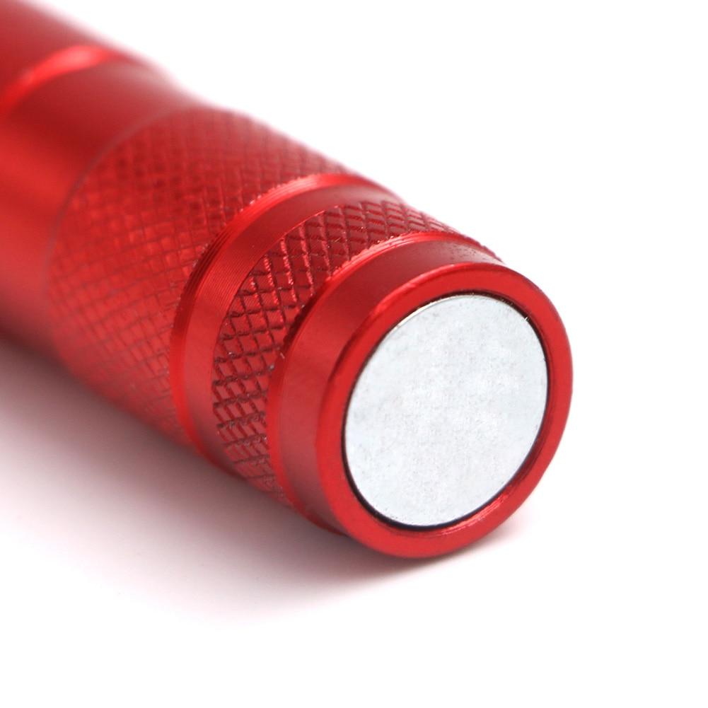 Magnétique Poche LED Travail Lumière avec Flexible Super lumineux lampe de Poche Clip 2 Aimant 3 LED CLH @ 8