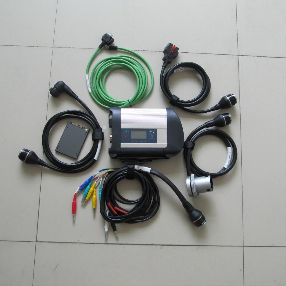 NEW MB SD C4 Étoiles C4 + Relais SD connect compact 4 avec multi langues MB ÉTOILE SD C4 avec Super vitesse ssd 2019.03 v