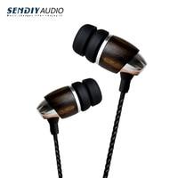 Sendiy M2 Hi End Blackwood Hi Res HIFI In Ear Headphones With Dynamic Sound
