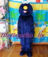 Blue Elmo Halloween Cartoon Character Costume Cosplay Mascot Custom Products Custom Made S M L Xl