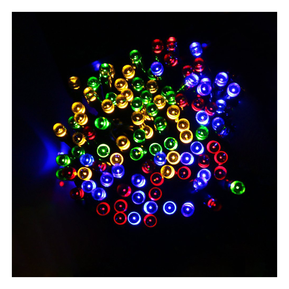 39ft 12m 100 LED Solar Powered LED Ambiance Lighting Fairy String Lights for Outdoor Homes Christmas