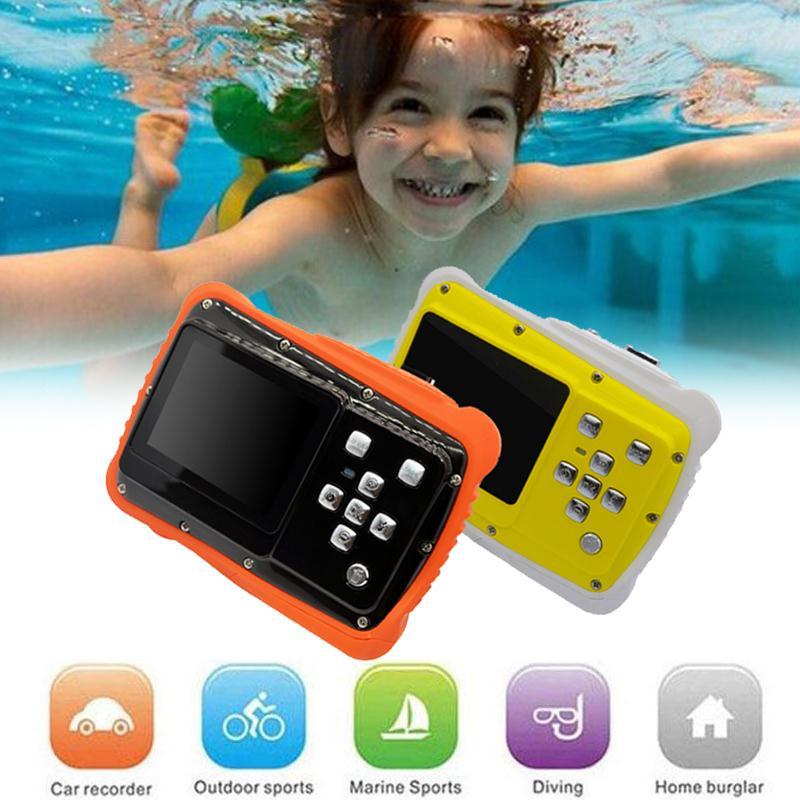 Cewaal Durable étanche 2.0 pouces HD caméra numérique enfants enfants caméscope pour le Sport de natation