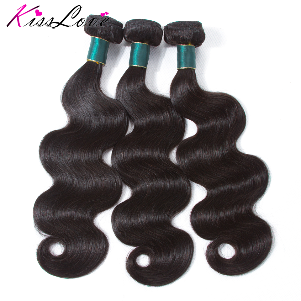 Indian Hair Extension Body Wave Bundles Remy Hair Human Hair 1/3 Piece Human Hair Bundles