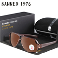 Anti-glare UV400 HD Polarized men Sunglasses brand Designer protection Vintage driving male sun glasses oculos with original box