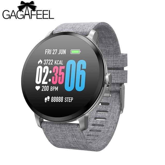 Gagafeel V11 Color Screen Smart watch Men Women Music Control HR Blood Pressure