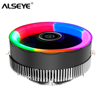 Alseye TBF 100 cpu cooler alumínio dissipador de calor rgb cpu ventilador para lga775/1151/1155/am2/am3/am4 Ventiladores e resfriadores     -