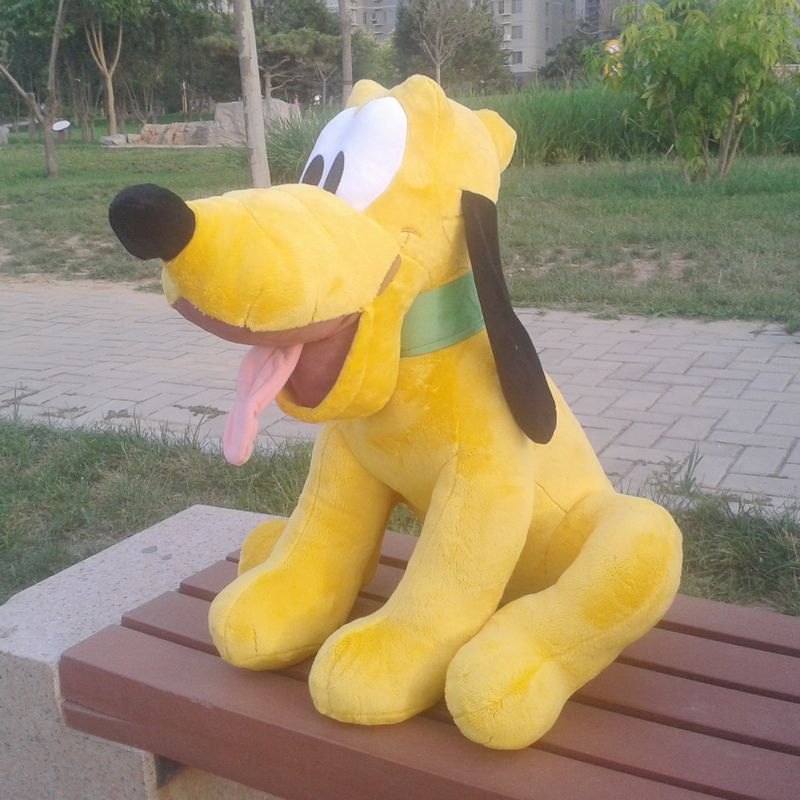 Original Big 50cm Pluto Puppy Dog Cute Soft Stuffed Animal Plush Toy Birthday Gift Children Girl Boy Gift купить