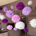 Hot sale 1 pcs 15cm=6 inch Tissue Paper Flowers paper pom poms balls lanterns Party Decor Craft Wedding multi color option balls