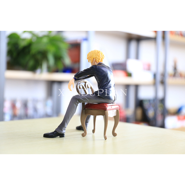 One Piece Sitting World Revolutionary Army Action Figure Toy