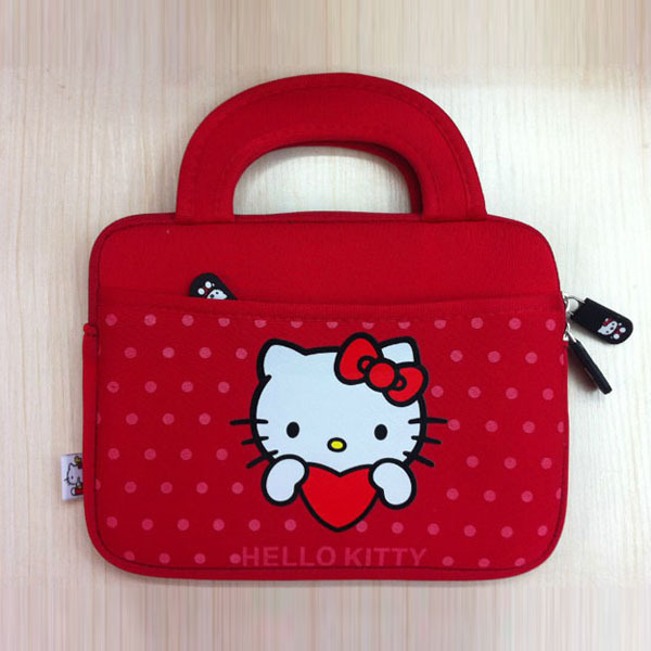 151d6ff57836 Cute Hello Kitty Carrying Soft Case Smart Cover For iPad Mini And Samsung  Tab All in 7   Inch Tablet PC