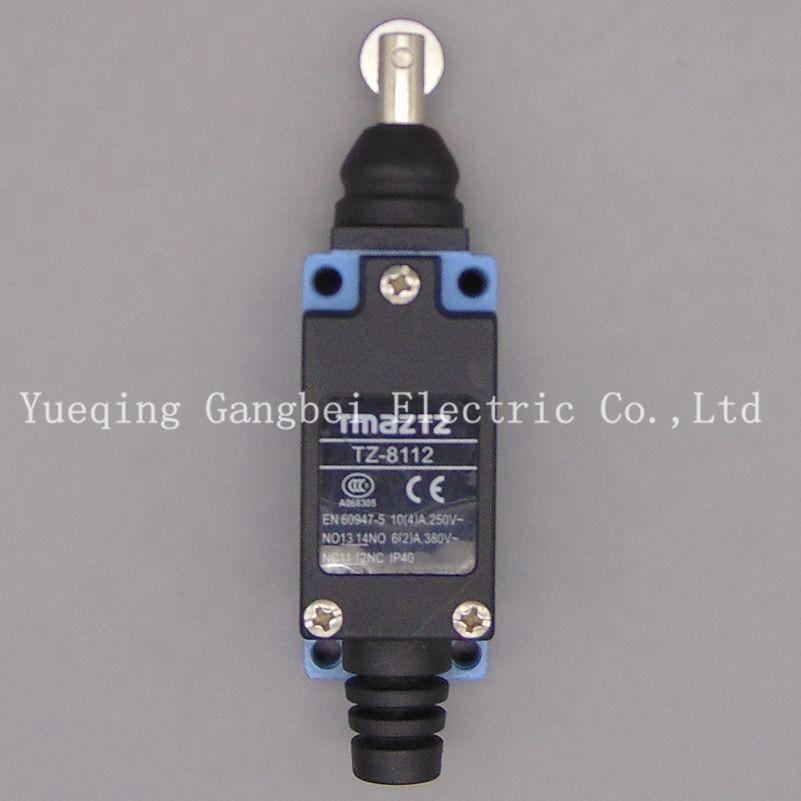 TZ-8112  tmaztz waterproof Limit switch Micro switch tmaztz tz 3102 ip67 4wire roller lever plunger limit switch spdt no nc copper wire 3m