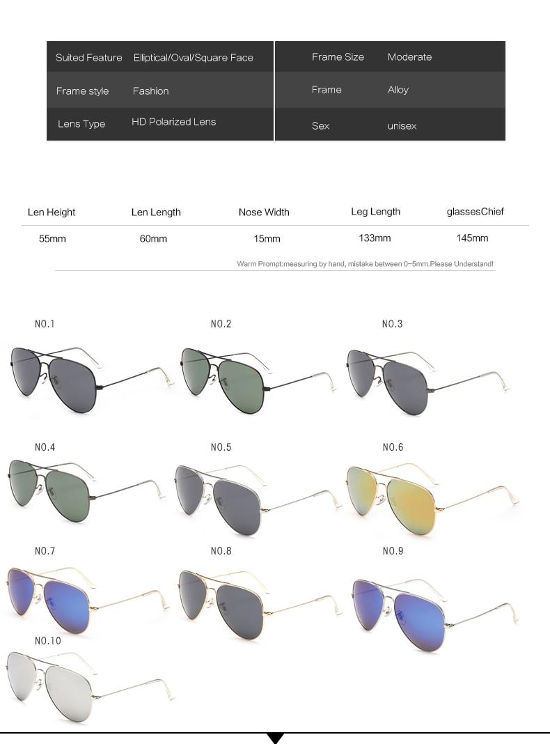 design Polarized Sunglasses classic 2