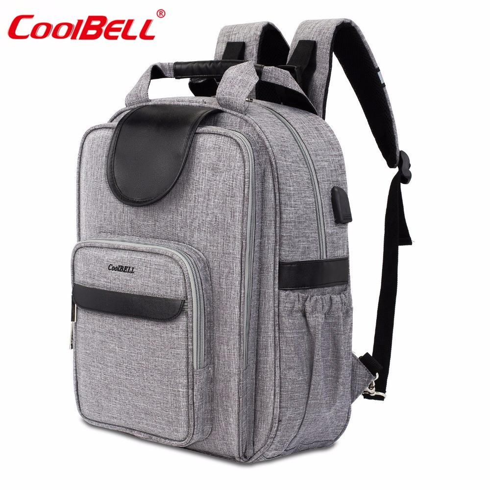 Baby Diaper Nappy Bag Waterproof Diaper Backpack Multi-function Large Capacity Baby Bag with Stroller StrapsBaby Diaper Nappy Bag Waterproof Diaper Backpack Multi-function Large Capacity Baby Bag with Stroller Straps