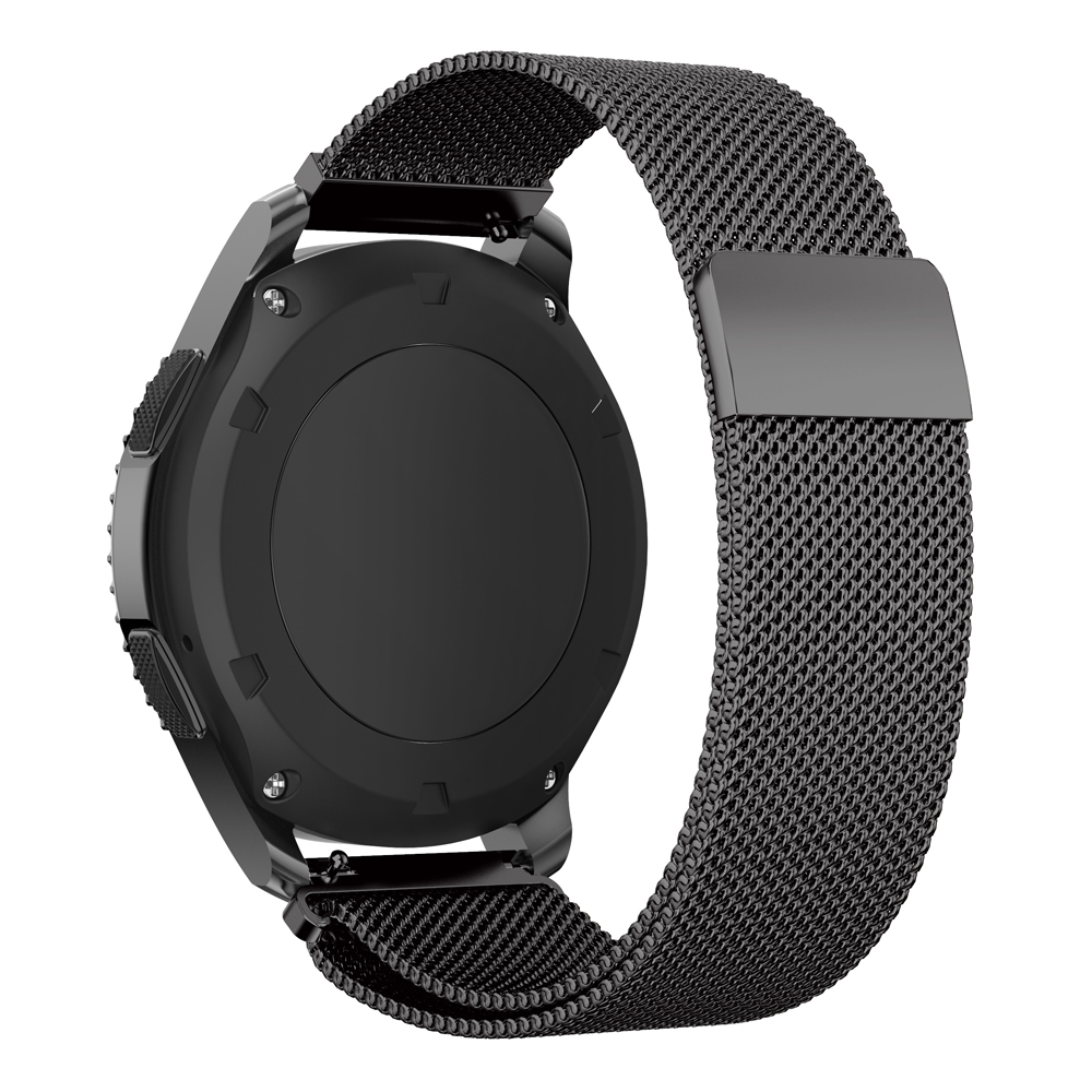 watchbands 22mm Magnetic buckle Milanese Loop band For Samsung Galaxy 46mm Wristbands Bracelet for Samsung S3 Frontier Classic in Watchbands from Watches