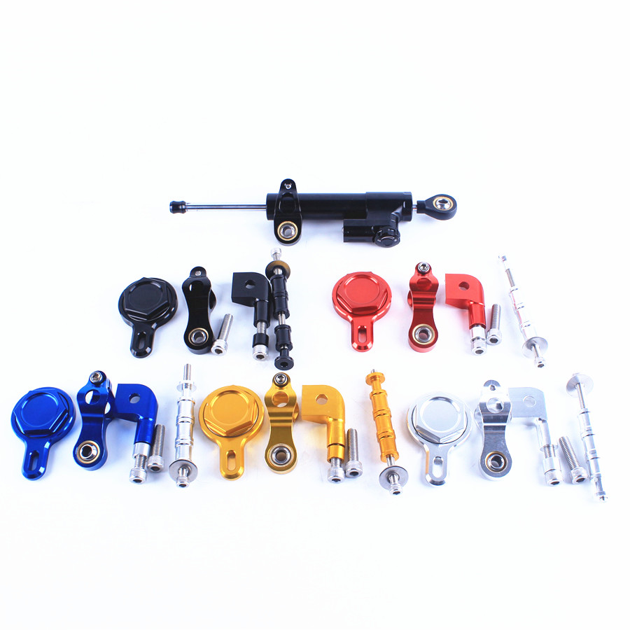 Steering Damper Stabilizer With Mounting Bracket Kit For Yamaha YZFR1 YZF R1 YZF R1 1999 2005