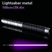 Lightsaber Metal Sword Metal Cosplay Boy Gril Espadaes Star Toy Laser Flashing Kids Light Saber LED Luke Toys Gift