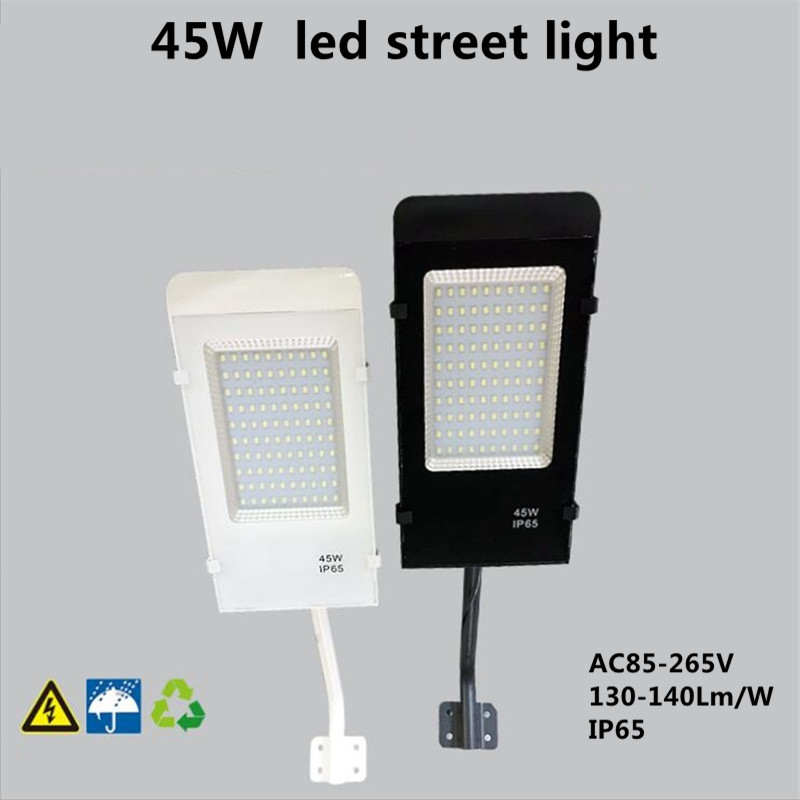 45W 50W street light 130-140Lm/W waterproof IP65 SMD led chip AC85-265V with 40cm rod white/warm white emergency light road ip камера 130 3518e