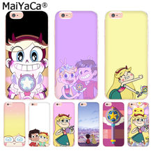 Maiyaca estrela vs as forças do mal caso de telefone moda luxo para iphone 11 pro 8 7 66 s plus x 5S se xr xs max capa(China)