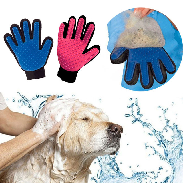 Grooming Glove for Cats and Dogs