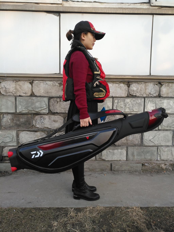 2017 DAIWA nouveau sac de canne à pêche DAIWAS monocouche haute capacité étanche sac de pêche 135R longueur extérieure 1.35 M DAWA engins de pêche - 5