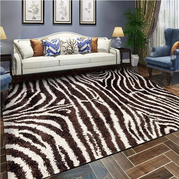 3x4 M Nord Europeen Grand Tapis Leopard Design 3d Impression Tapis