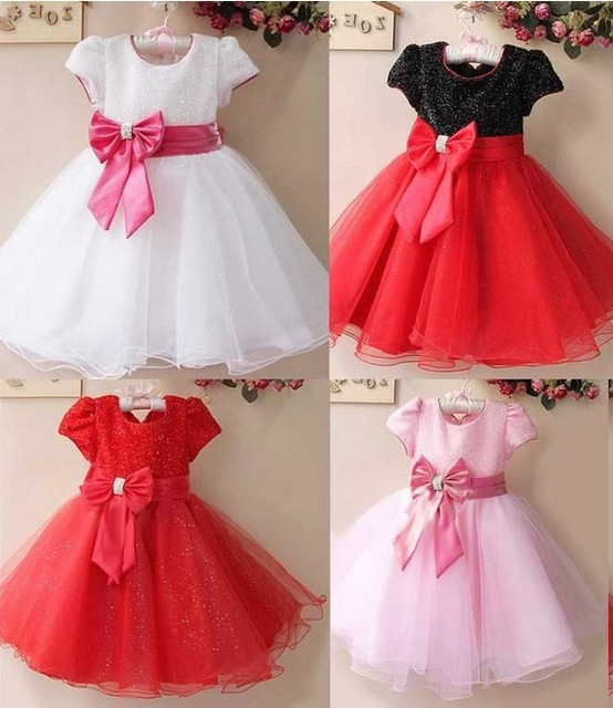 Baby Dress Princess Christening Flower Dresses For Wedding Prom Party