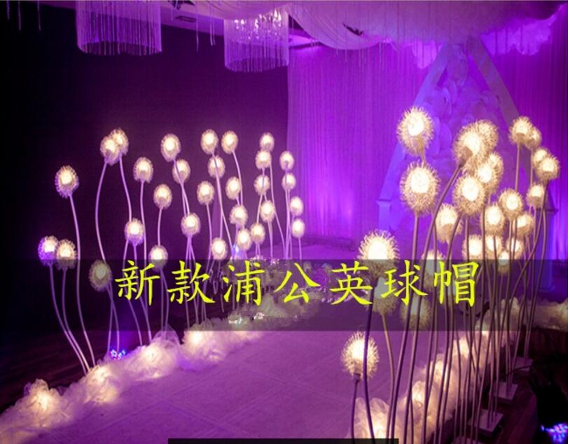 The wedding dragon bead road leads the LED ball bubble road to lead the light in Party DIY Decorations from Home Garden