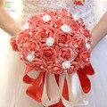 SSYFashion Buque Де Noiva свадебные marrige холдинг цветок Романтический сладкий 30 шт. роуз свадебные букеты праздник реквизит Аксессуары
