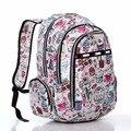 Women Backpack Nylon Mochila Student Kid School Bags For Teenagers Girl Daily Backpacks Fashion Children Flor Book bags Packsack