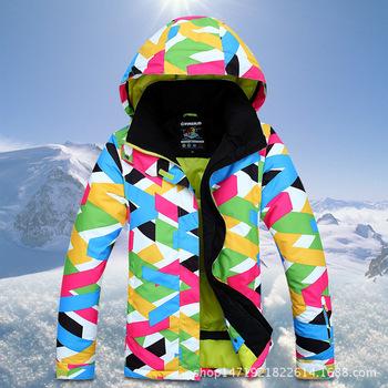 Nowy gorący mężczyzna kurtki narciarskie zima na zewnątrz termiczna wodoodporna wiatroszczelna narty Snowboard kurtki wspinaczka męskie śnieg narciarstwo sportowe ubrania tanie i dobre opinie sceamout Poliester COTTON WOMEN Oddychające Anti-shrink Stałe Skręcić w dół kołnierz Pasuje prawda na wymiar weź swój normalny rozmiar