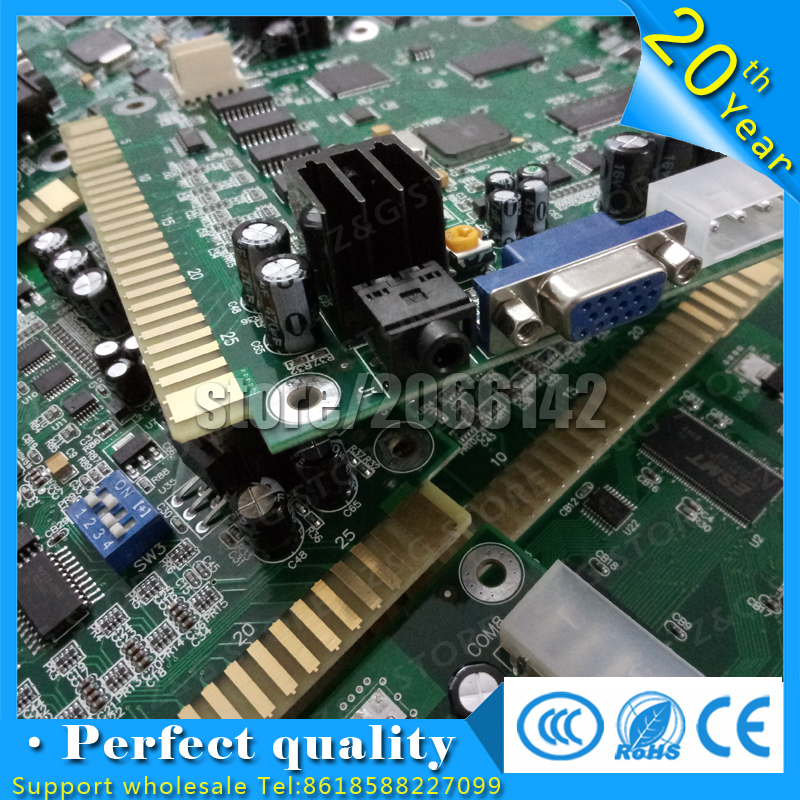 5PCS New of Classical Games 60 in 1 Game PCB Board Jamma PCB CGA VGA output for Cocktail arcade machine and Upright arcade 60in1 fast free ship for gameduino for arduino game vga game development board fpga with serial port verilog code