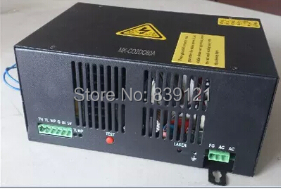 New style 60W laser power source CO2 laser power source laser cutting/hits the sign machine